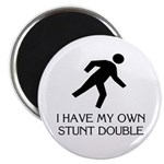 My own stunt double Magnet