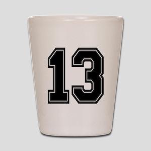 13 Shot Glass
