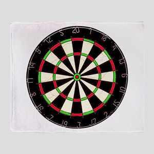Dartboard Throw Blanket