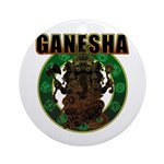Ganesha5 Ornament (Round)