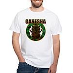 Ganesha5 White T-Shirt