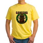 Ganesha5 Yellow T-Shirt