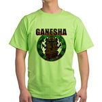 Ganesha5 Green T-Shirt