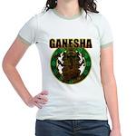 Ganesha5 Jr. Ringer T-Shirt