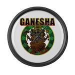 Ganesha5 Large Wall Clock