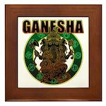 Ganesha5 Framed Tile