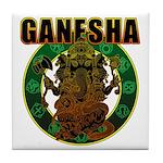 Ganesha5 Tile Coaster