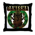 Ganesha5 Throw Pillow