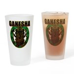 Ganesha5 Drinking Glass