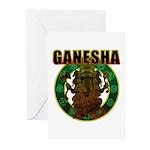 Ganesha5 Greeting Cards (Pk of 10)