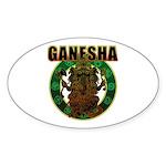 Ganesha5 Sticker (Oval 10 pk)