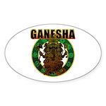 Ganesha5 Sticker (Oval 50 pk)