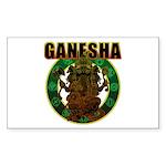 Ganesha5 Sticker (Rectangle 10 pk)