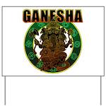 Ganesha5 Yard Sign
