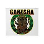 Ganesha5 Throw Blanket