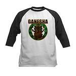 Ganesha5 Kids Baseball Jersey