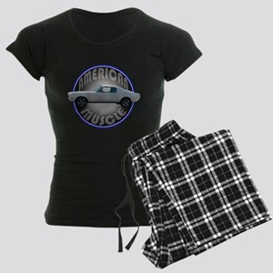 Ford Mustang American Muscle Women's Dark Pajamas