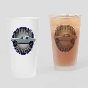 Ford Mustang American Muscle Drinking Glass