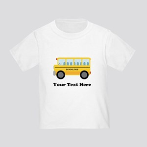 School Bus Personalized T-Shirt