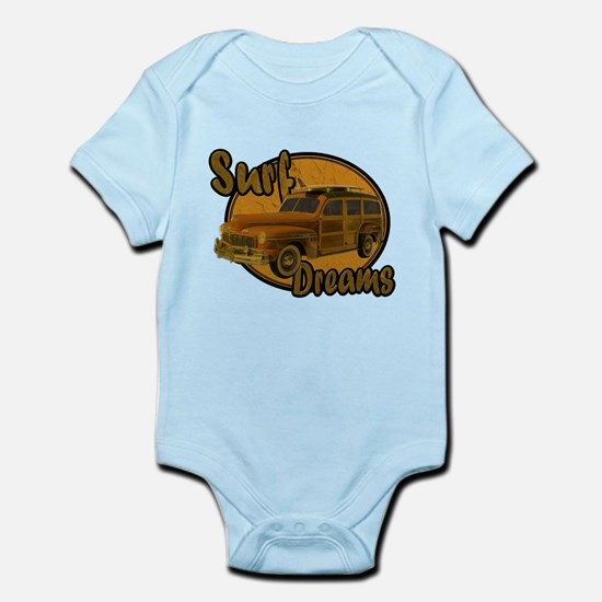 Surf Dreams Woodie Wagon Infant Bodysuit