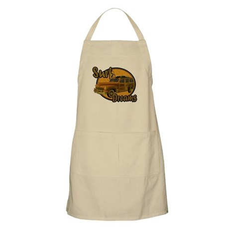 Surf Dreams Woodie Wagon Apron