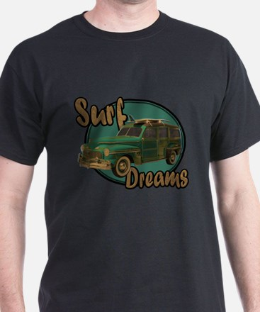 California Surf Dreams Woody T-Shirt