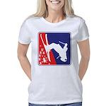 A Snow Skier doing a flip  Women's Classic T-Shirt
