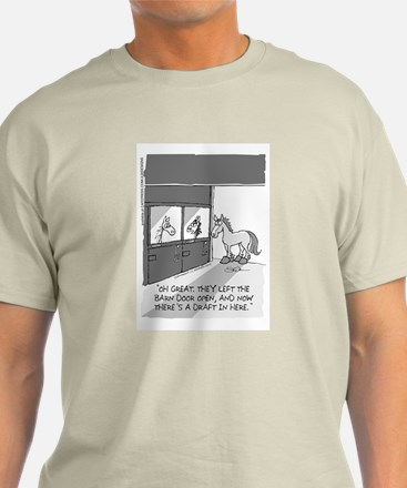 Near Side: A Draft in Here T-Shirt