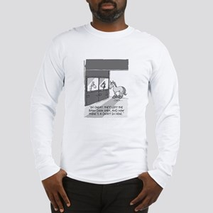 Near Side: A Draft in Here Long Sleeve T-Shirt