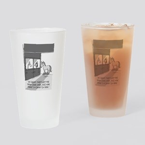 Near Side: A Draft in Here Drinking Glass