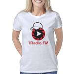 1Radio.FM - Dark Logo Women's Classic T-Shirt