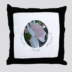 Cecil Brunner, side view Throw Pillow