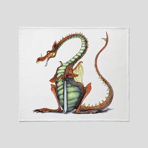 sir draagon throw blanket