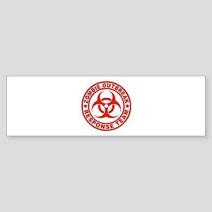 Zombie Outbreak Response Team Sticker (Bumper)