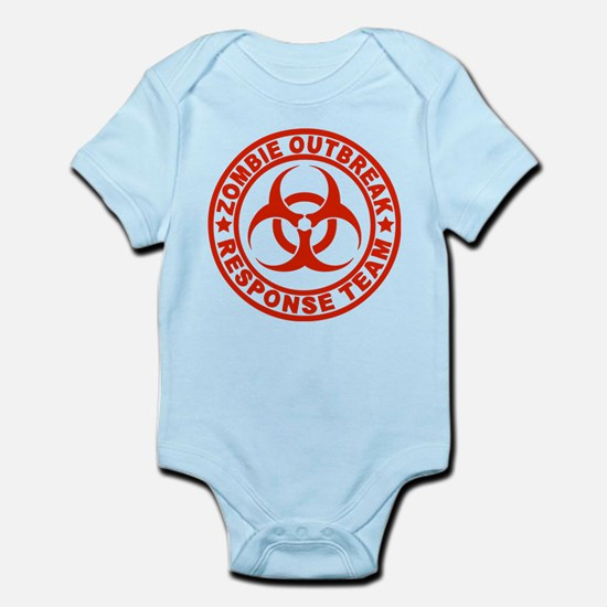 Zombie Outbreak Response Team Infant Bodysuit