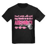 Air force uncle Kids T-shirts (Dark)