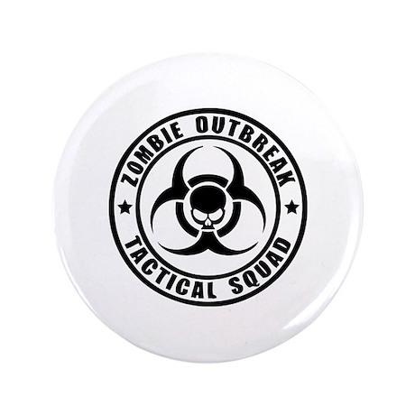 "Zombie Outbreak Technical Squad 3.5"" Button (100 p"