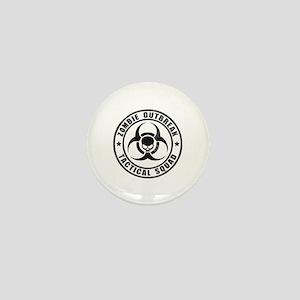 Zombie Outbreak Technical Squad Mini Button