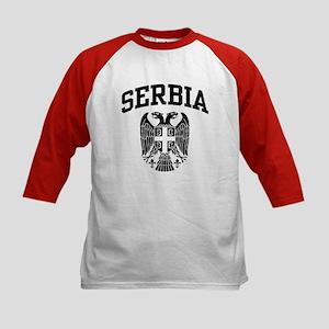 Belgrade Serbia Kids Baseball Jersey