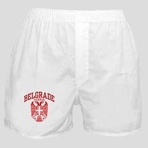 Belgrade Serbia Boxer Shorts