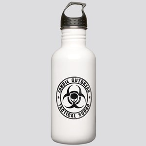 Zombie Outbreak Technical Squad Stainless Water Bo