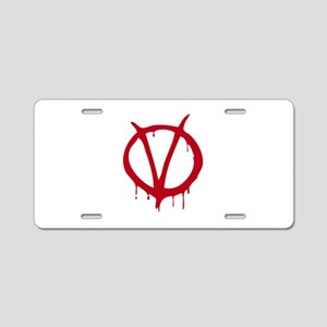 Vendetta Aluminum License Plate