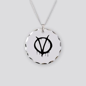 Vendetta Necklace Circle Charm