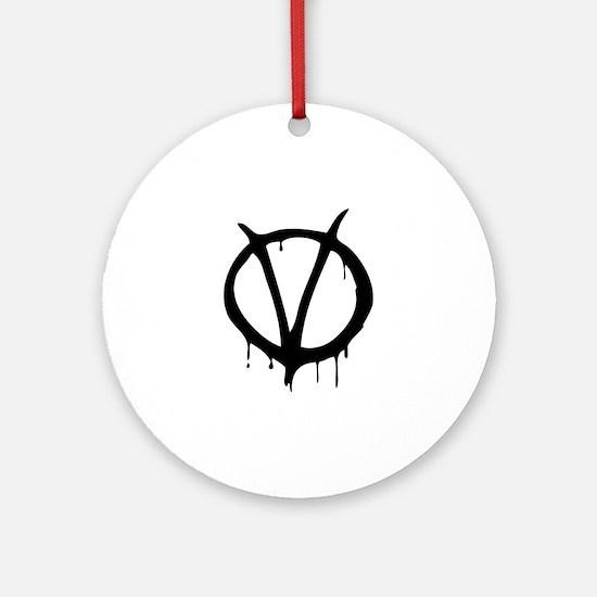 Vendetta Ornament (Round)