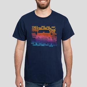 Renault 4 Hippy Dark T-Shirt