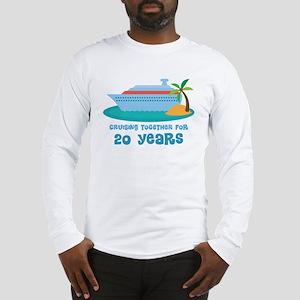 20th Annivesrary Cruise Ship Long Sleeve T-Shirt