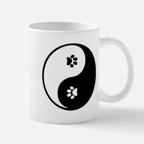 YinYang Paws Mug