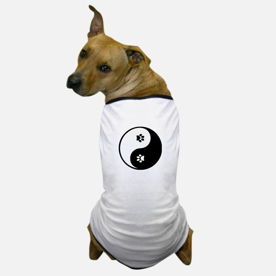 YinYang Paws Dog T-Shirt
