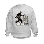Gone Squatchin Kids Sweatshirt