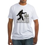 Gone Squatchin Fitted T-Shirt